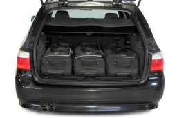 BMW 5 series Touring (E61) 2004-2011 Car-Bags.com travel bag set (2)