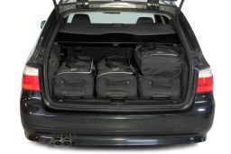 BMW 5 series Touring (E61) 2004-2011 Car-Bags.com travel bag set (3)