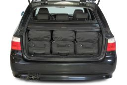 BMW 5 series Touring (E61) 2004-2011 Car-Bags.com travel bag set (4)