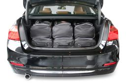 BMW 3 series (F30) 2012- 4 door Car-Bags.com travel bag set (4)