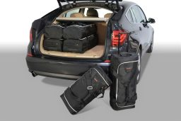 BMW 5 series GT (F07) 2010- 5 door Car-Bags.com travel bag set (1)