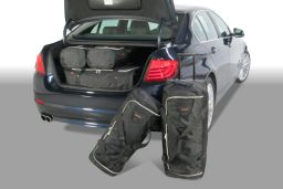 BMW 5 series (F10) 2010-2017 4 door Car-Bags.com travel bag set (1)