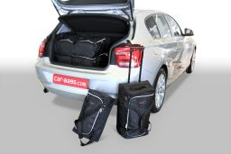BMW 1 series (F21 - F20) 2011- 3 & 5 door Car-Bags.com travel bag set (1)