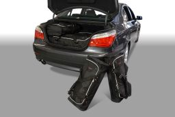 BMW 5 series (E60) 2004-2010 4 door Car-Bags.com travel bag set (1)