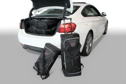 BMW 4 series Coupé (F32) 2013- Car-Bags.com travel bag set (1)