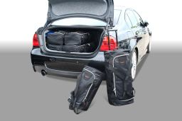 BMW 3 series (E90) 2005-2012 4 door Car-Bags.com travel bag set (1)