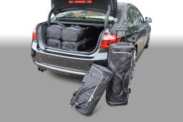 BMW 3 series (F30) 330e Plug in Hybrid 2016- 4 door Car-Bags.com travel bag set (1)