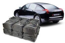 Citroën C6 2006-2012 4 door Car-Bags.com travel bag set (1)