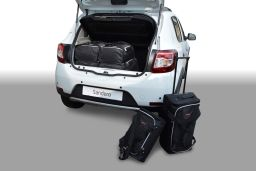 Dacia Sandero 2012- 5 door Car-Bags.com travel bag set (1)