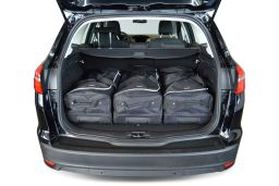 Ford Focus III 2011- wagon Car-Bags.com travel bag set (2)