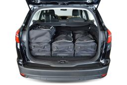 Ford Focus III 2011- wagon Car-Bags.com travel bag set (3)