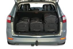 Ford Mondeo IV 2007-2014 wagon Car-Bags.com travel bag set (3)