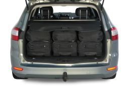 Ford Mondeo IV 2007-2014 wagon Car-Bags.com travel bag set (4)