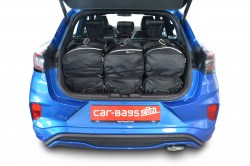 Ford Puma 2019- (high boot floor) Car-Bags.com travel bag set (4)