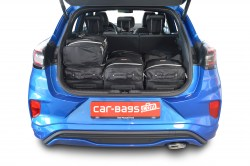 Ford Puma 2019- (high boot floor) Car-Bags.com travel bag set (3)