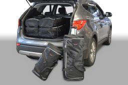 Hyundai Santa Fe (DM) 2012- Car-Bags.com travel bag set (1)