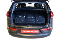 Kia Sportage III (SL) 2010-2015 Car-Bags.com travel bag set (2)