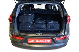 Kia Sportage III (SL) 2010-2015 Car-Bags.com travel bag set (3)