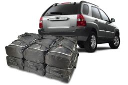 Kia Sportage II (JE) 2004-2010 Car-Bags.com travel bag set (1)