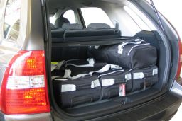 Kia Sportage II (JE) 2004-2010 Car-Bags.com travel bag set (2)