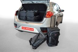 Kia Cee'd (JD) 2012-2018 5 door Car-Bags.com travel bag set (1)