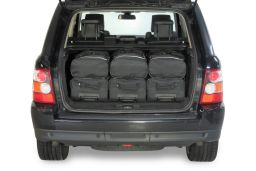 Land Rover Range Rover Sport I (L320) 2005-2013 Car-Bags.com travel bag set (4)