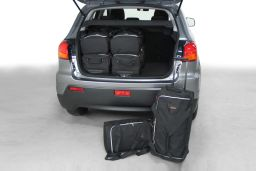 Mitsubishi ASX 2010- Car-Bags.com travel bag set (1)