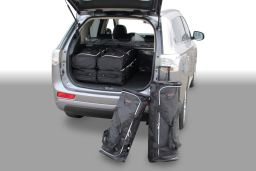 Mitsubishi Outlander 2012- Car-Bags.com travel bag set (1)