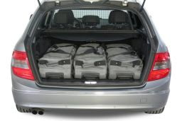 Mercedes-Benz C-Class estate (S204) 2007-2014 Car-Bags.com travel bag set (4)