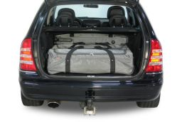 Mercedes-Benz C-Class estate (S203) 2001-2007 Car-Bags.com travel bag set (2)