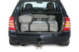 Mercedes-Benz C-Class estate (S203) 2001-2007 Car-Bags.com travel bag set (3)