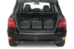 Mercedes-Benz GLK (X204) 2008-2015 Car-Bags.com travel bag set (2)