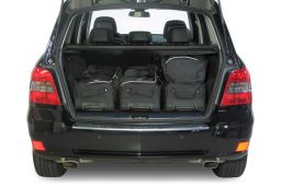 Mercedes-Benz GLK (X204) 2008-2015 Car-Bags.com travel bag set (3)
