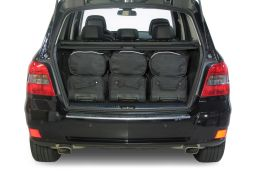Mercedes-Benz GLK (X204) 2008-2015 Car-Bags.com travel bag set (4)