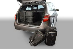 Mercedes-Benz B-Class (W246) 2011- 5 door Car-Bags.com travel bag set (1)
