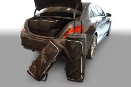 Mercedes-Benz C-Class (W205) 2014- 4 door Car-Bags.com travel bag set (1)