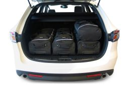 Mazda Mazda6 (GH) 2008-2012 wagon Car-Bags.com travel bag set (3)