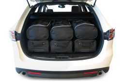Mazda Mazda6 (GH) 2008-2012 wagon Car-Bags.com travel bag set (4)