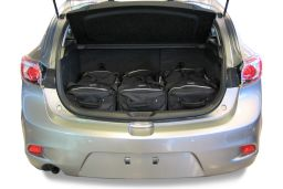 Mazda Mazda3 (BL) 2010-2013 5 door Car-Bags.com travel bag set (2)