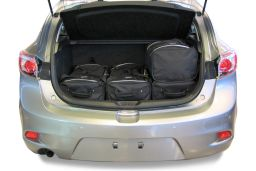 Mazda Mazda3 (BL) 2010-2013 5 door Car-Bags.com travel bag set (3)
