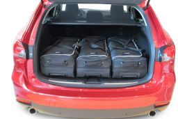 Mazda Mazda6 (GJ) Sportbreak 2012- Car-Bags.com travel bag set (2)