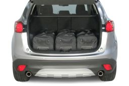 Mazda CX-5 (KE) 2012-2017 Car-Bags.com travel bag set (2)