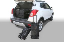 Opel Mokka / Mokka X 2012-2016 / 2016- Car-Bags.com travel bag set (1)