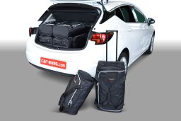 Opel Astra K 2015- 5 door Car-Bags.com travel bag set (1)