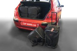Peugeot 307 2001-2007 3 & 5 door Car-Bags.com travel bag set (1)