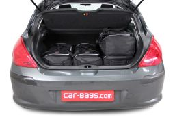 Peugeot 308 I 2007-2013 3 & 5 door Car-Bags.com travel bag set (3)