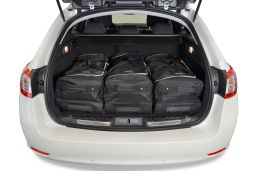 Peugeot 508 SW 2011- wagon Car-Bags.com travel bag set (2)