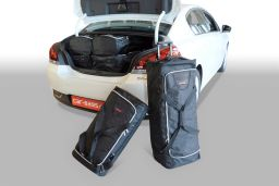 Peugeot 508 2011- 4 door Car-Bags.com travel bag set (1)