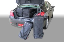 Peugeot 508 HYbrid4 2012- 4 door Car-Bags.com travel bag set (1)