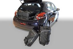 Peugeot 208 2012- 5 door Car-Bags.com travel bag set (1)